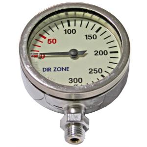 DIR ZONE Finimeter 52mm 200bar Chrom
