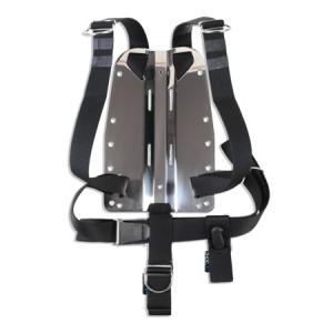 DIR ZONE Backplate 3mm mit Harness