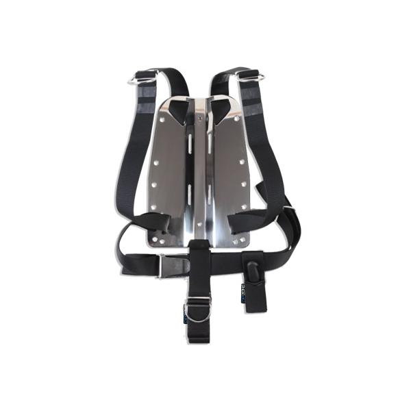 DIR ZONE Backplate 6mm mit Harness