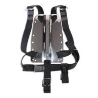 DIR ZONE Backplate 3mm Aluminium mit Harness