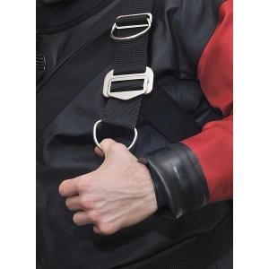 DUX Edelstahlbackplate 3mm Set mit verstellbarem Harness