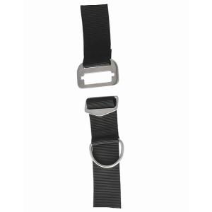 DUX Edelstahlbackplate 6mm Set mit verstellbarem Harness