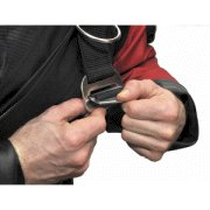 DUX Aluminiumbackplate 3mm Set mit verstellbarem Harness