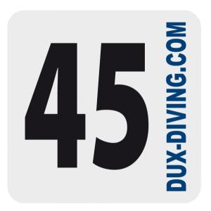DUX MOD-Aufkleber 45