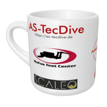 AS-TecDive Kaffeepott