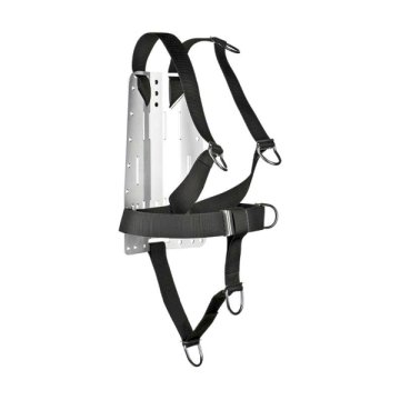 XDEEP NX Serie Ultralight Harness Deluxe, Backplate Gr. S