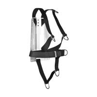 XDEEP NX Serie Ultralight Harness Deluxe, Backplate Gr. S