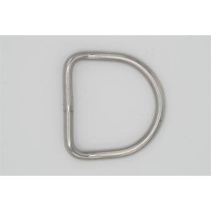 XDEEP D-Ring 45° 50mm (6 mm stark)