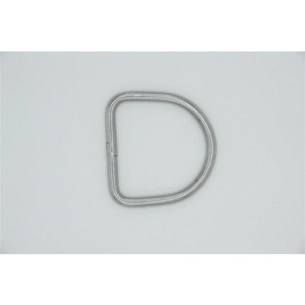 XDEEP D-Ring 50mm (6 mm stark)