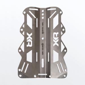 Mares XR Edelstahl-Backplate